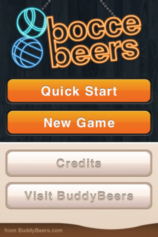 Screenshot BocceBeers